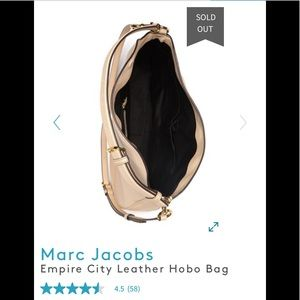 Marc Jacobs Bags - Marc Jacobs Empire City Leather Hobo